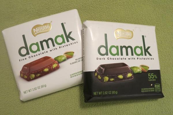Nestle Damak Chocolate with Pistachios