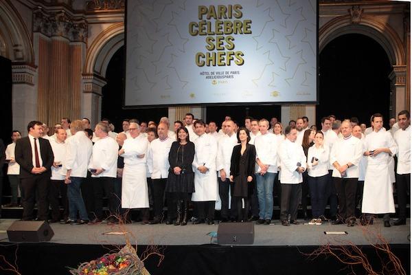 Paris Celebre Ses Chefs