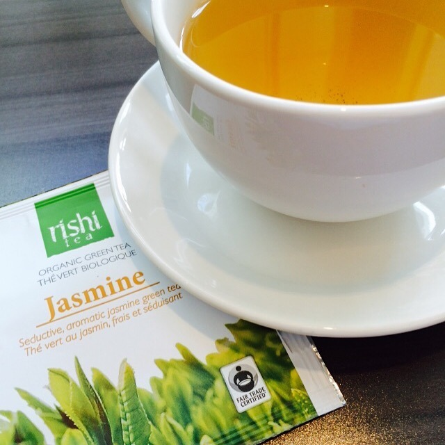 Rishi Organic Green Jasmine Tea at Locavore