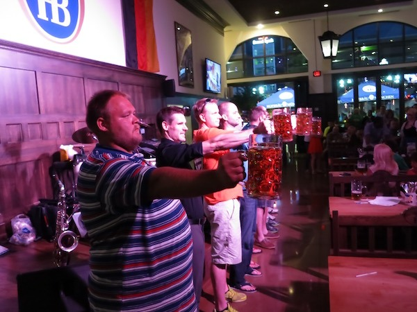 Stein Holding Contest Hofbrauhaus Rosemont