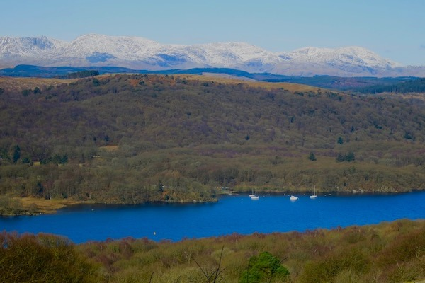Lake Windemere The Lake District Cumbria