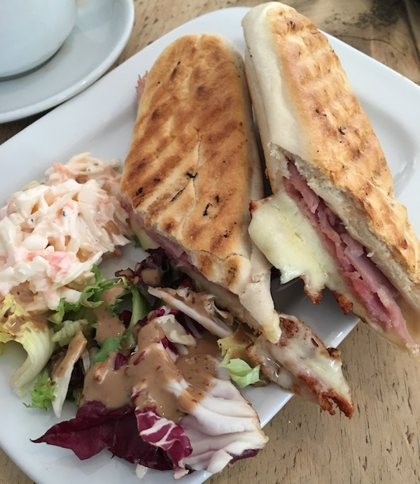 Sandwich at Grasmere Tea Gardens Lake District Cumbria
