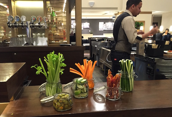 Bloody Mary Bar Marriott STL
