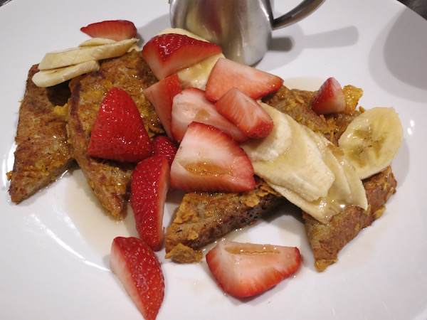 Crunchy French Toast Marriott St Luois Grand Food Travelist