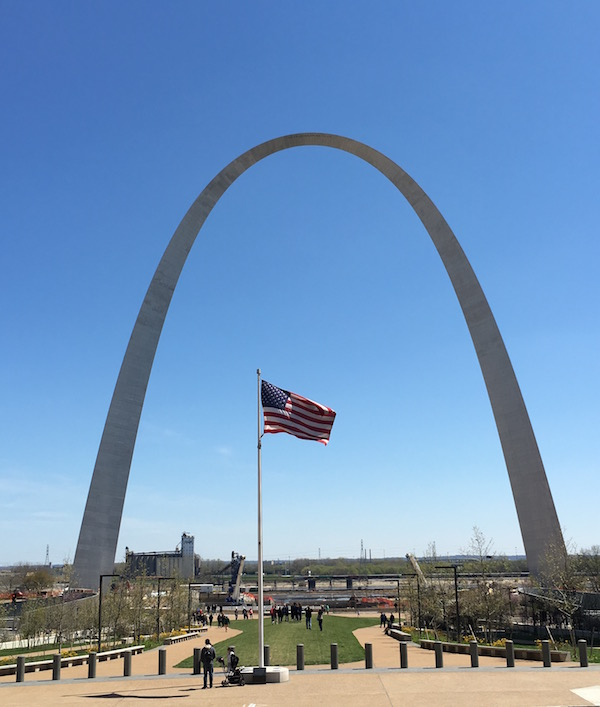 The Arch in St. Louis Food Travelist
