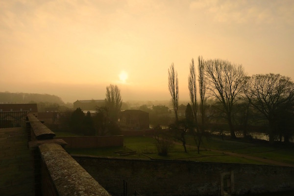Sunrise at the Talbot Hotel Malton