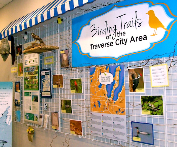 Birding Trails in Traverse City Area.