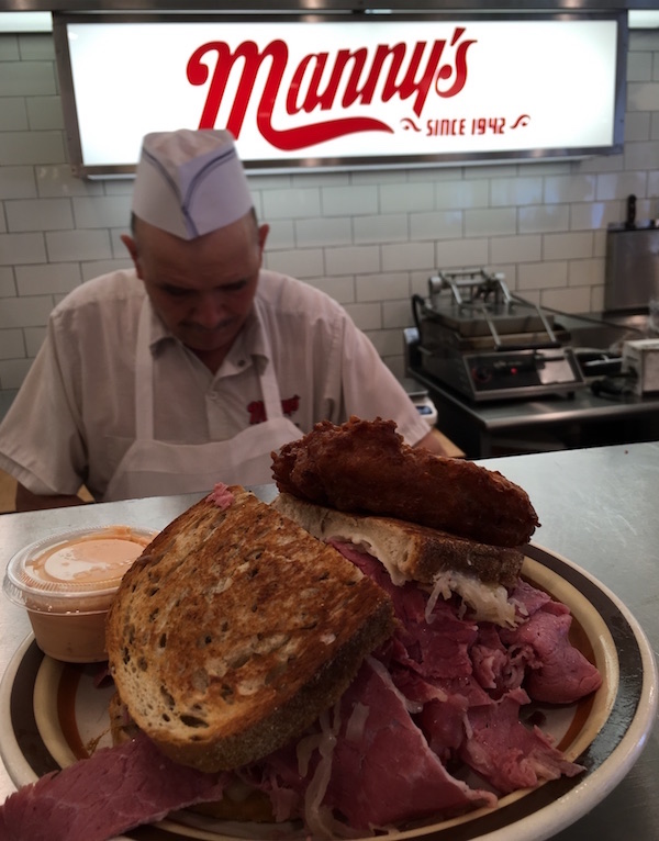 Corned Beef at Manny's