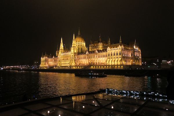 Budapest at Night Viking River Cruises