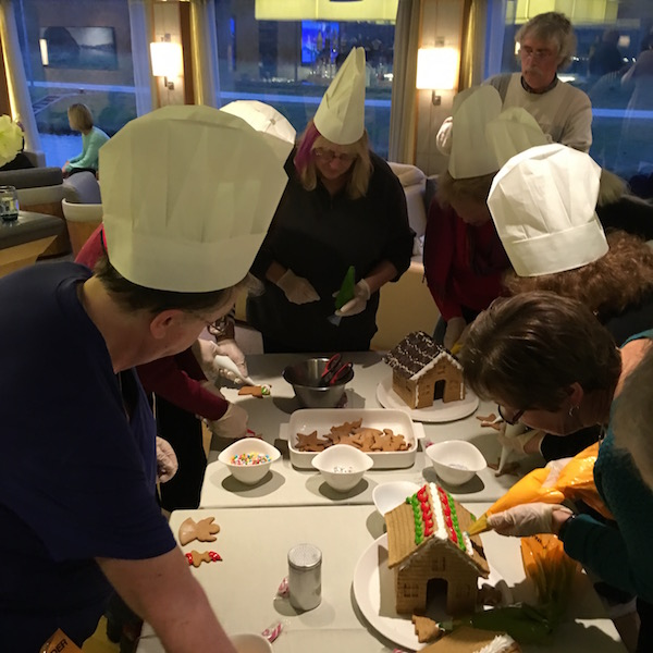 Gingerbread House Building on Viking River Cruises