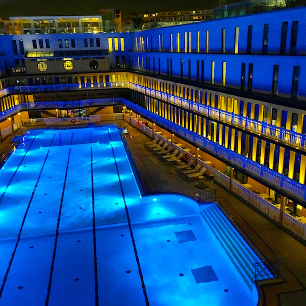 Outdoor Pool At Hotel Molitor