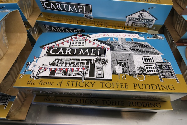 Cartmel Village Shop Sticky Toffee Pudding Food Travelist