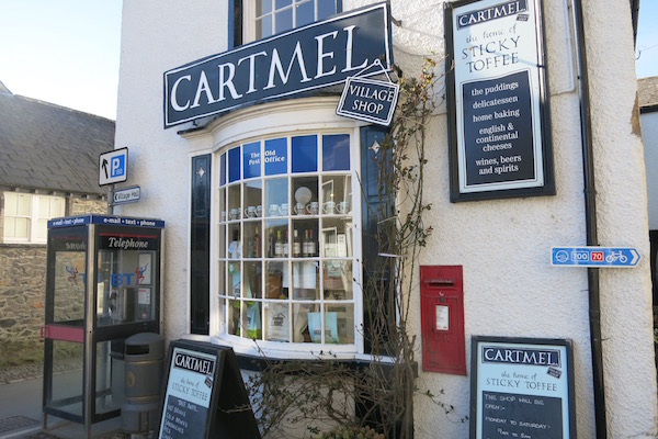 Cartmel Village Shop Store Front