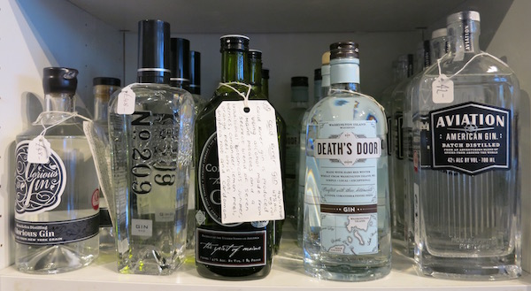 International Gin Selection at Hot Wines