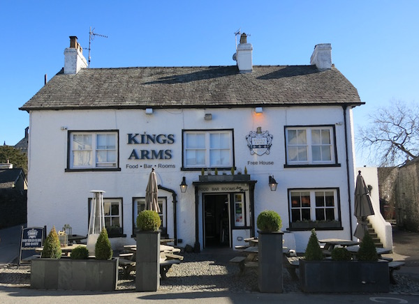 Kings Arms Restaurant England