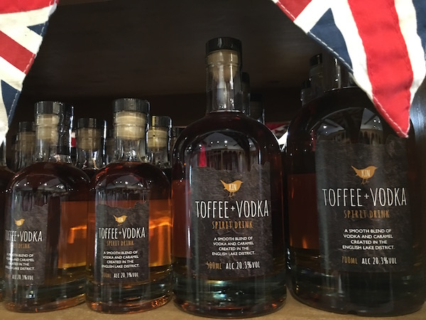 Sticky Toffee Vodka at Cartmel Village Shop Food Travelist