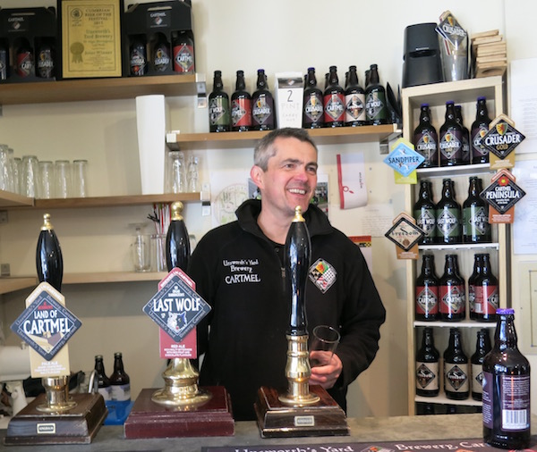 Unsworth Yard Brewery Food and Fun in Cartmel England Food Travelist