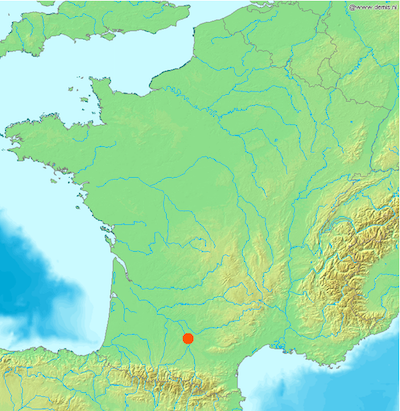 toulouse-france-map