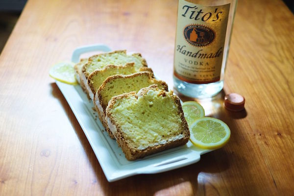 Tito's Vodka Long Weekend Lemon Pound Cake