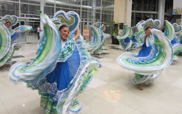 Local Mazatlan dancers.