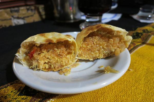 Quinoa Empanada