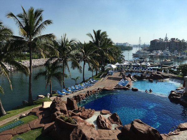 El Cid Marina Resort Pool and marina Mazatlan Food Travelist