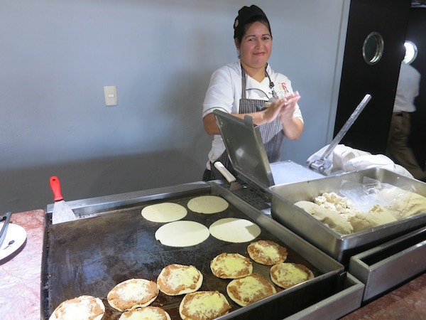 Fresh made tortillas at El Cid marina resort Mazatlan Food Travelist