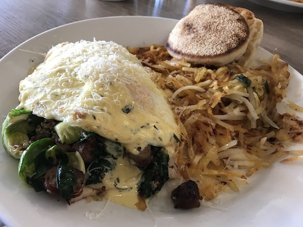 Breakfast at Shoreline La Jolla