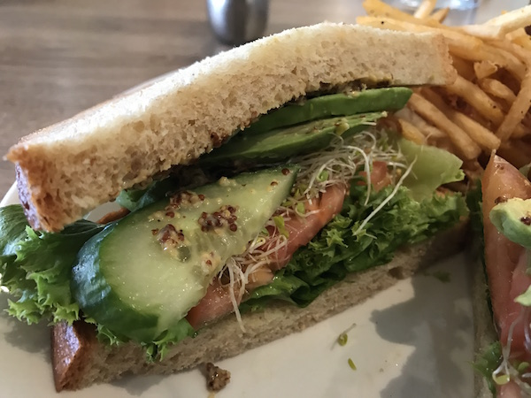 California Sandwich at Shoreline La Jolla