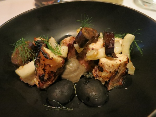 Grilled Octopus Georges on the Cove La Jolla
