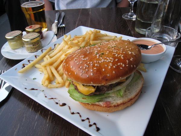 Burger in Paris