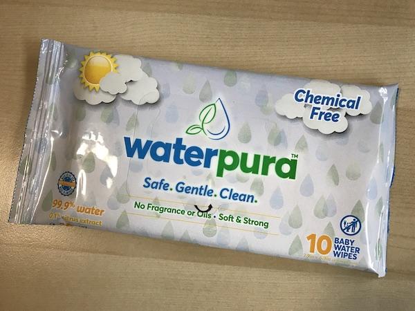 Waterpura Baby Water Wipes best travel accessories