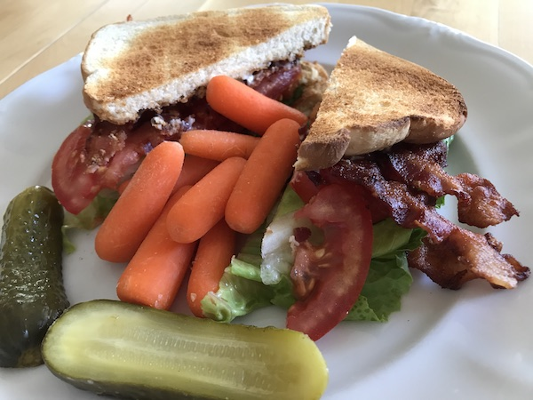 BLT Sandwich with MightyVine Tomatoes