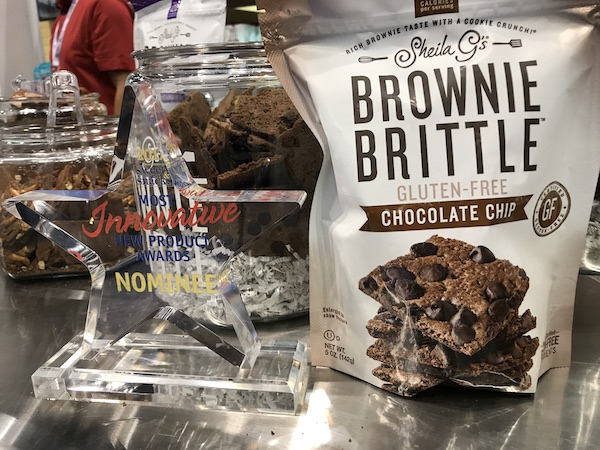 Gluten Free Brownie Brittle
