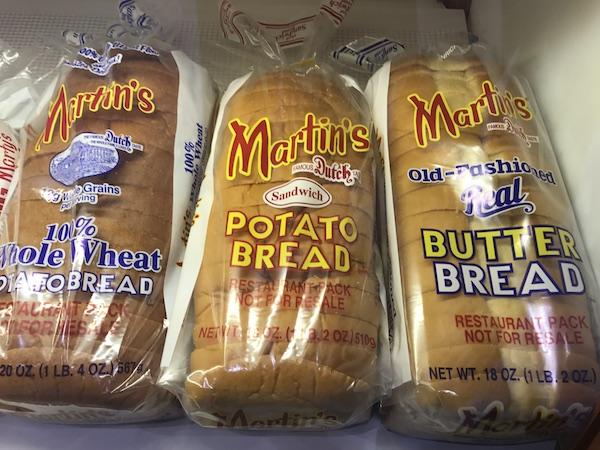 Martin's Butter Bread