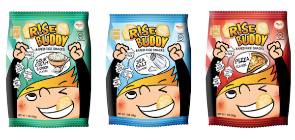 Rise Buddy Baked Rice Snacks