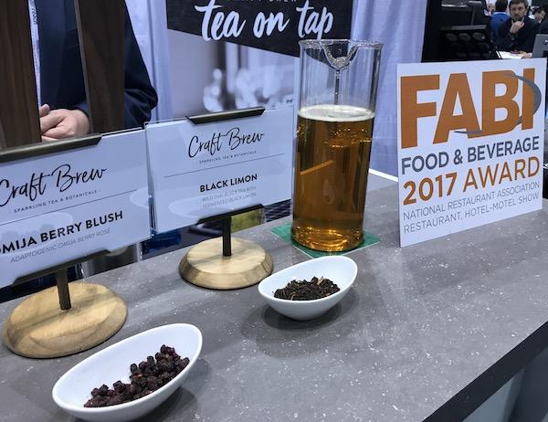 Rishi Craft Brewed Tea on Tap