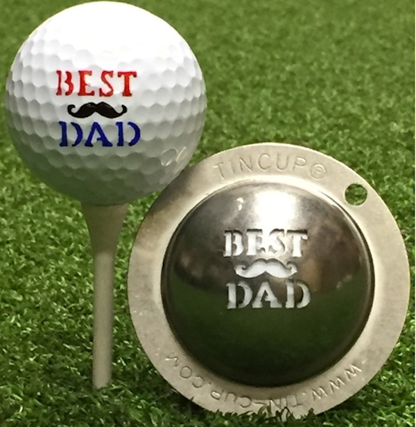Tin Cup Golf Ball Marker