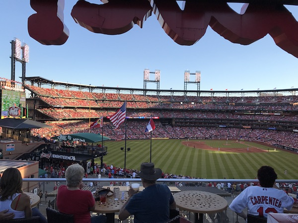 Cardinals Nations Rooftop Seating Cardinal Busch Stadium St. Louis