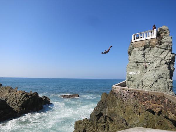 Cliff Diving in Mazatlan