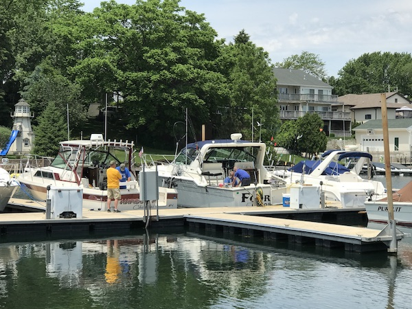 Kenosha Fishing Dock