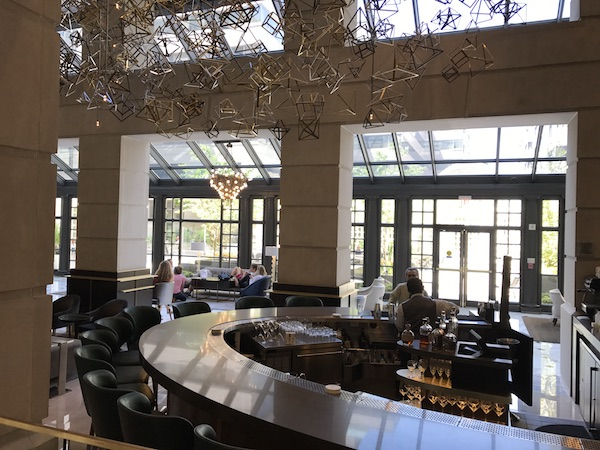Fairmont Washington DC Bar Lobby
