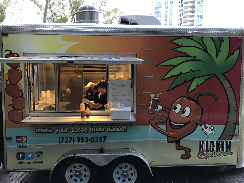 Food Truck in St. Petersburg Florida Kickin Caribbean