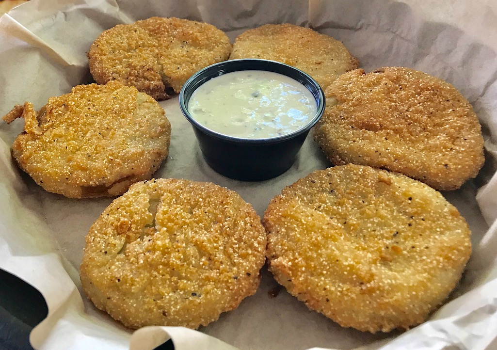 Fried green tomatoes at Punky's St. Petersburg Florida