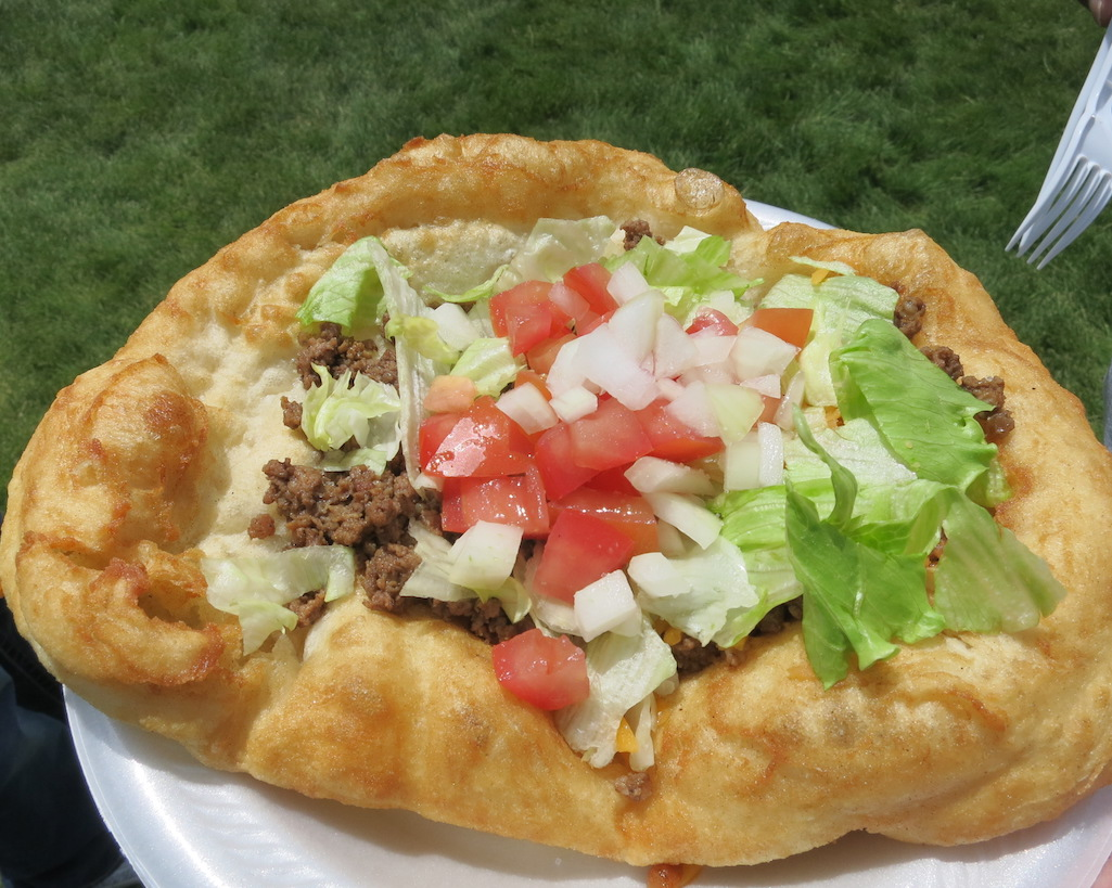 Indian Fry Bread Pow Wow Cody Wyoming