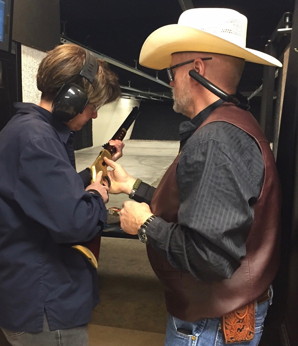 Learning gun safety at the Cody Firearms Experience