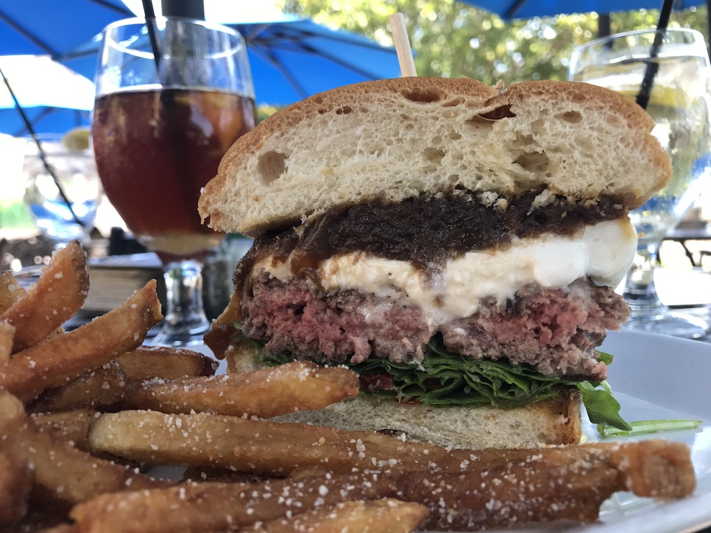 Park Shore Grill St. Petersburg Florida Burrata Burger