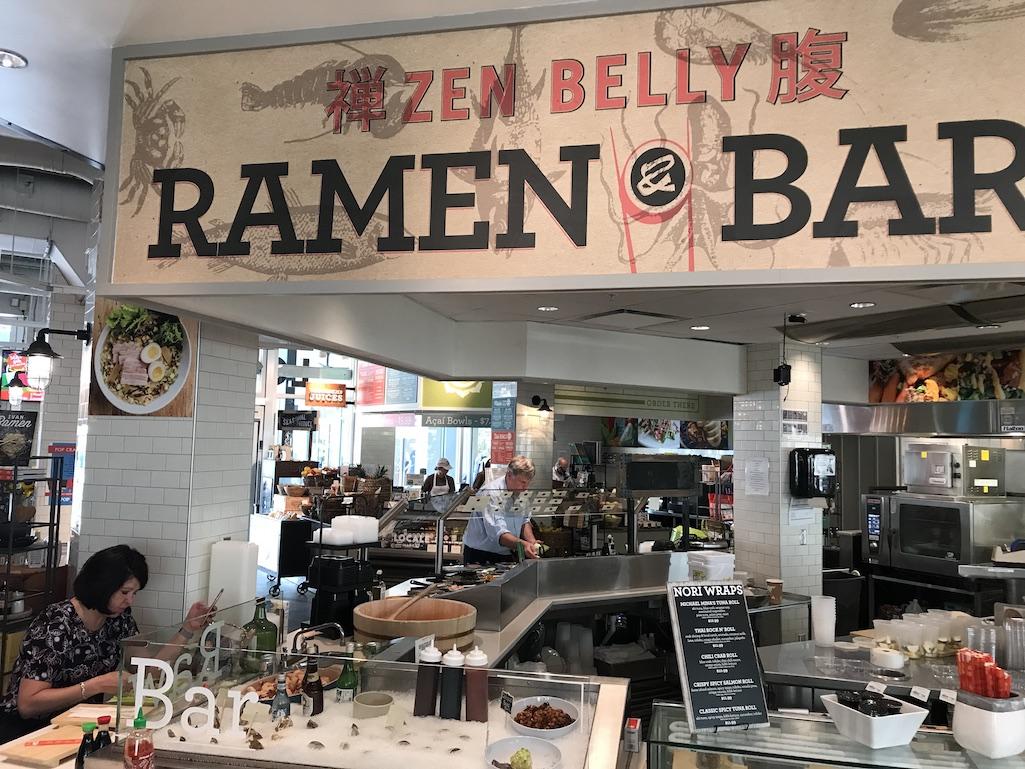 Ramen Bar at Locale Market in St. Petersburg Florida