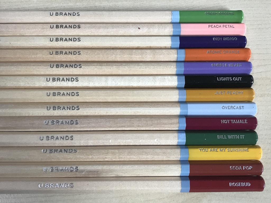 Unique Colored Pencil Names