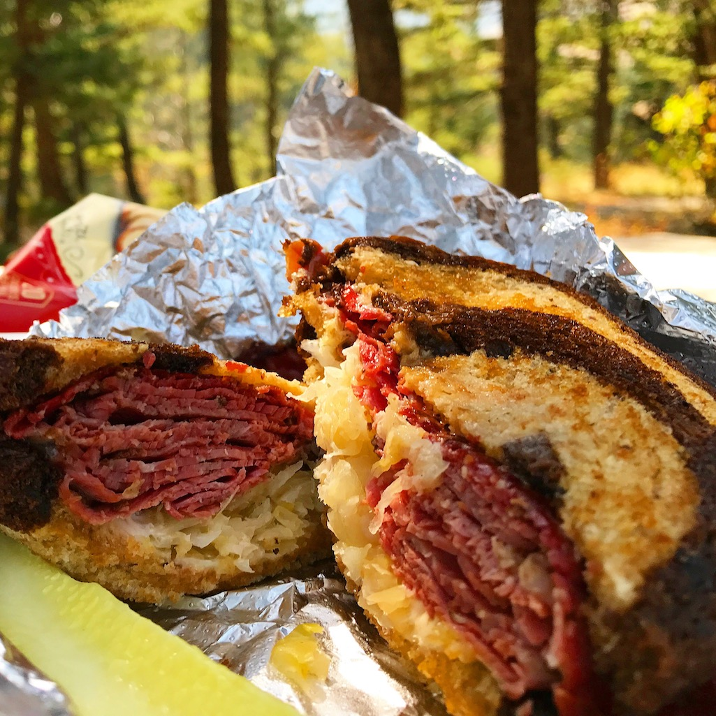 Big Timber Bakery Reuben Sandwich